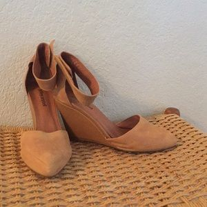 Jeffery Campbell leather wedges